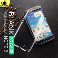 For Customized Phone Galaxy Note 2 Back Cover Case, For Ultra Thin Samsung Galaxy Note 2 Case,For Clear Hard Samsung Note 2 Case