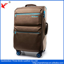 New stylish wholesale luggage bags cases expandable spinner air express suitcase China supplier