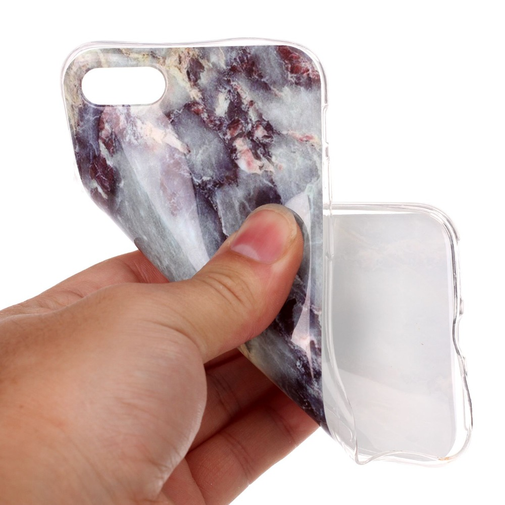 For iPhone 7 Case Marble Soft TPU Image Paint Granite Stone Case For iPhone 6 6s Plus 7 7 Plus 5S SE 5 Marble Cover Phone Cases