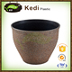 PS/PP thermoforming plastic flower plant pot for sale