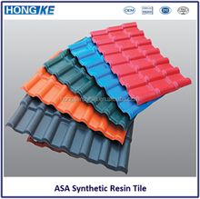 ASA Color Coated Plastic Corrugated Heat Resistant PVC Roofing Sheet for house roofing covering