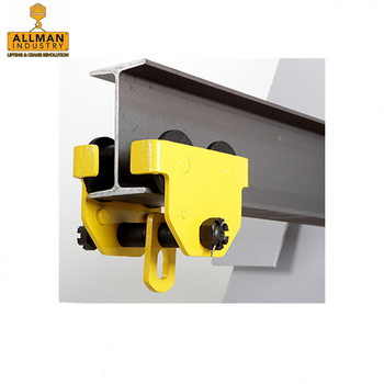 ALLMAN CE approved 0.5ton to 2ton Adjustable Beam Anchor Trolley