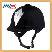 composite material wicking and air permeable fabric equestrian helmet all sizes S M L