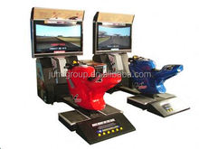 JUMI style cannonball run racing game machine