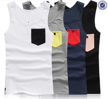 Sport Gym Sleeveless Undershirts, Male Bodybuilding Tank Top, Summer Style Men's Fashion Tank Top