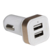 Micro Auto Universal Dual 2 Port Smart USB Car Charger For Mobile Phone Mini Car Charger Adapter
