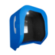 Wall mounted soundproof public glass metal cabinet telephone booth