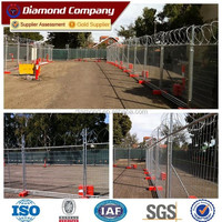 anti climb weld mesh panels/barb wire fencing/temporary fencing