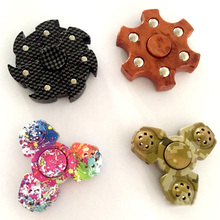 Tri-Spinner Fidget Toy EDC HandSpinner Anti Stress Reliever And ADAD Hand Spinners