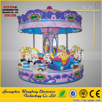 wholesale Carousel horse rides / Amusement horse carousel rides / Playground kiddie rides for amusement park
