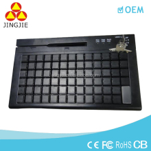 JJ-KB01 pos keyboard,all in one pos system programmable keyboard,led wireless keyboard