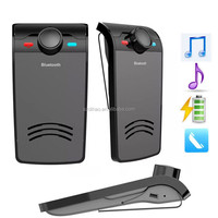 DIHAO hands free wireless bluetooth speaker car kit for mobile phone
