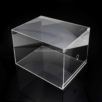 Acrylic Shoes Collection Box Sneaker Display Case