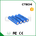 3.7v Lithium Ion battery ICR14650 rechargeable Li-ion battery