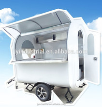 Factory wholesale mini mobile food vending van for sale