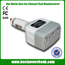 HC-C16 fast charge 2 in 1 usb mini car charger with wall charger for phones