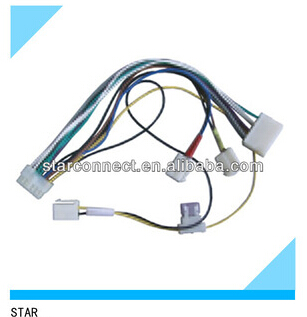 car ISO connector automotive wiring harness with fuse holder manufacturers