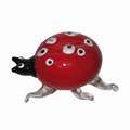Murano glass ladybird for home decoration