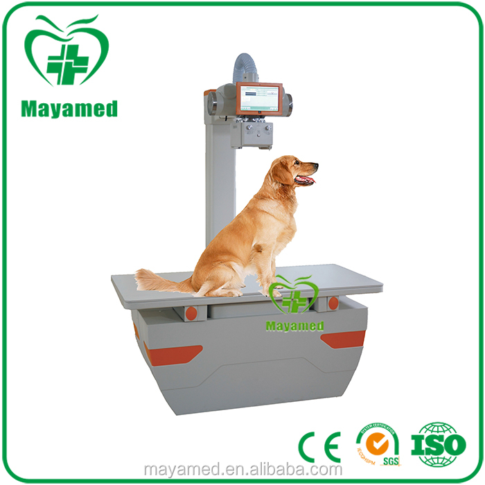 2016 hot sale high quality hospital digital veterinary x ray equipment animal x-ray machine for vet