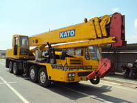 used kato truck crane 35ton nk350e made in Japan for cheap sale/used 35 ton construction crane