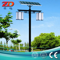 Japan China Oriental style Outdoor solar garden LED lamp, lighting system, sun power(ZD-TYD-12)