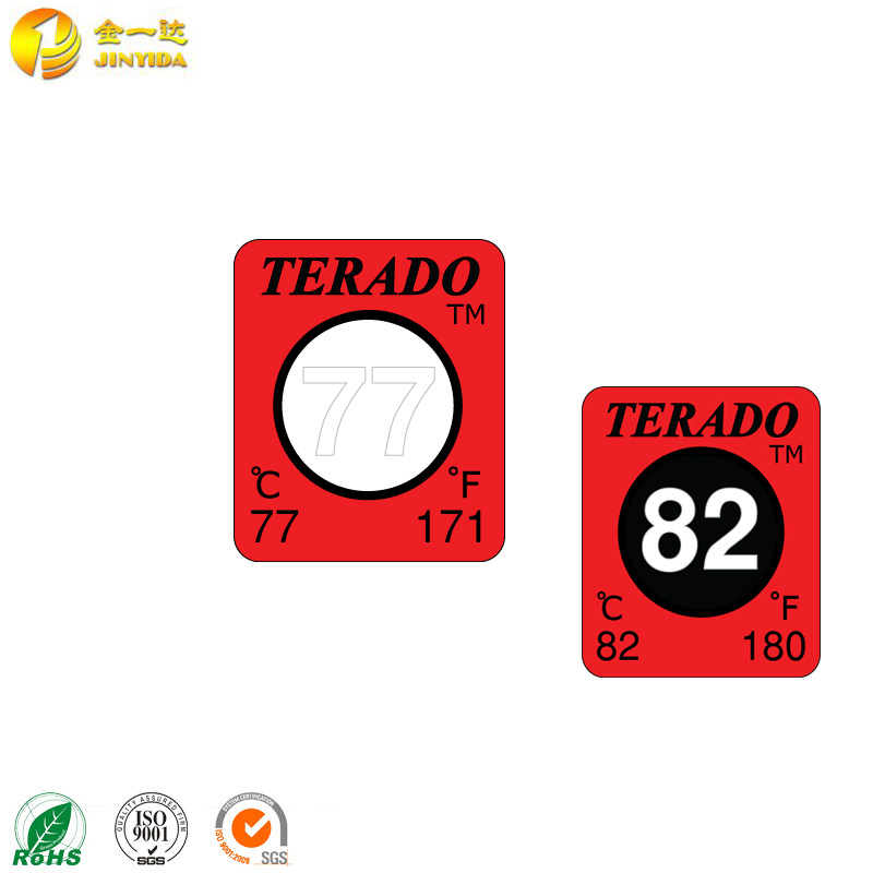 High Quality Adhesive Temperature Indicator Label