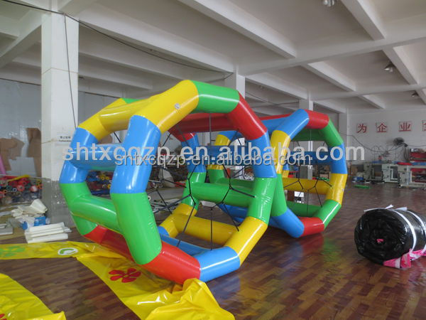 2014 inflatable lake toys /inflatable water roller