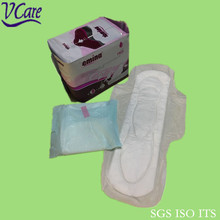 breathable super absorbable cotton Disposable Sanitary pads