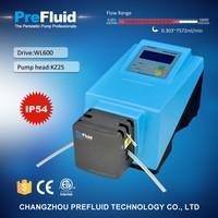 WL600 stepper motor Peristaltic Pump, chemical dosing pump working principle