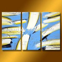 Hot Sell Handmade Abstract Oil Paintings On Stretched Canvas