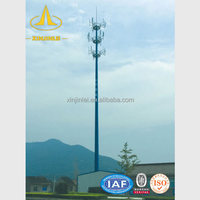 12m Mobile Telescopic Mast Tower Antenna Tower Mast