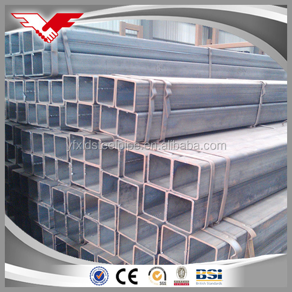 Factory Direct Price Standard marking A53 ms hollow section square steel pipe