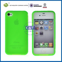 C&T Crystal plastic snap hard case for iphone 4