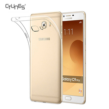 For Galaxy C7 Pro Case, Ultra Thin Transparent Soft Gel TPU Silicone Case Cover for Samsung Galaxy C7 Pro
