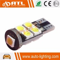 One year warranty 12v non-polarity canbus 194 w5w t10 9smd 5050 car led light