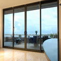 Factory custom HT102 series new design aluminum sliding door for house