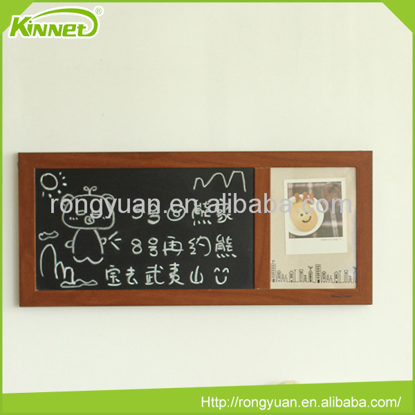 Best price China memo board with blackboard and photo frame