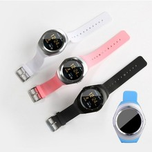 "L8 heart rate Smart Watch blood pressure with 1.54"" TFT Display Bluetooth 3.0 and GSM Phone Call, Support Multi languages"