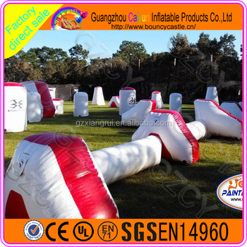 Paintball bunker cheap inflatable paintball bunkers