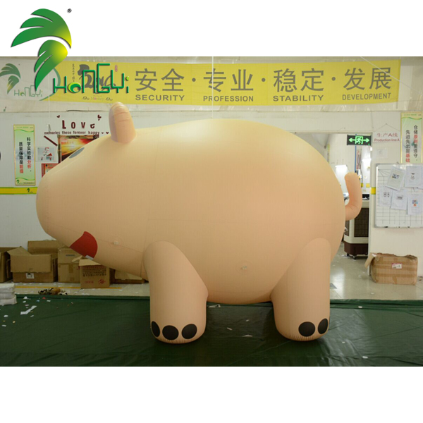 Giant Inflatable Helium Pig Custom Inflatable Pig Costume Inflatable Cartoon Pig For Sale