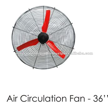 Poultry air circulation fan buy poultry fans poultry for Air circulation fans home