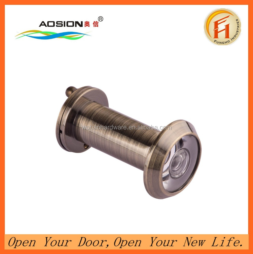 Security180 degree brass door eye viewer