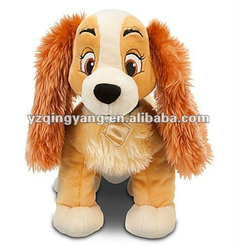 "14"" lady and the tramp - lady plush"