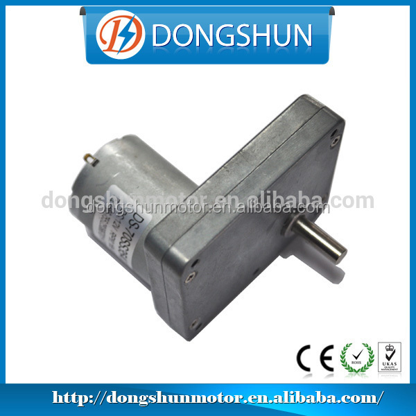 Micro Customized Low speed 70mm DS-70SS3540 gear box dc motor