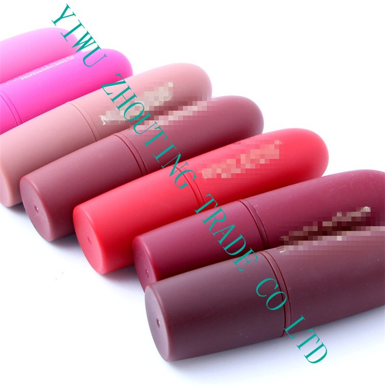 2016 New Products Wholesale No Name Natural Organic Lipstick for Private Label