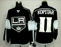 Anze Kopitar Los Angeles Kings Black Ice Hockey Jersey