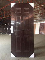 modern style american building supply steel panel door for house