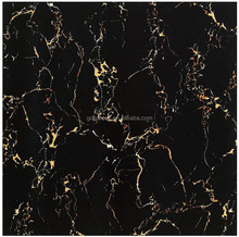 60x60 full glazed polished black liquid lava floor tile