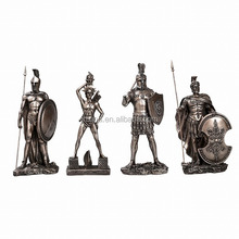 European Rome Thai Solid Bronze Sculpture