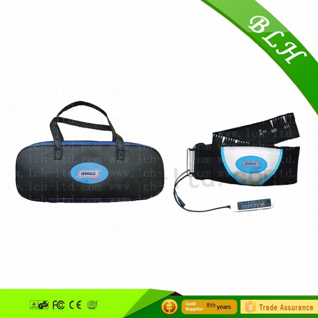 2014 Newest Product Far Infrared Vibration Belly Fat Reducing slimming massage belt for health care